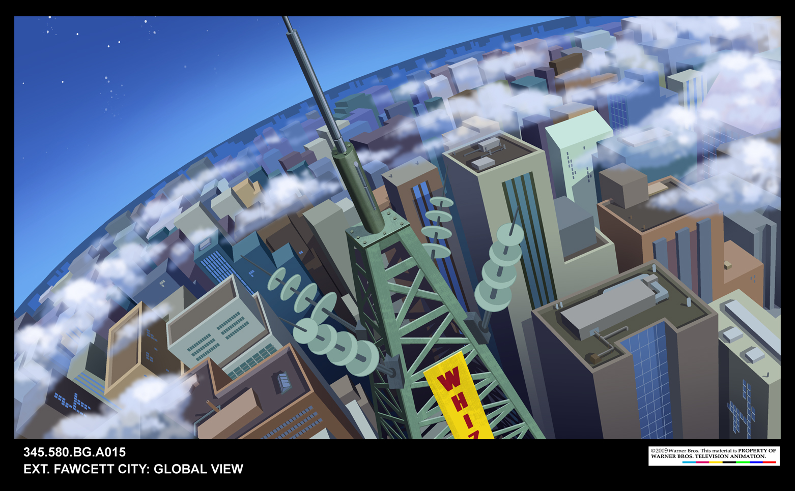14. Batman: The Brave & The Bold animation background