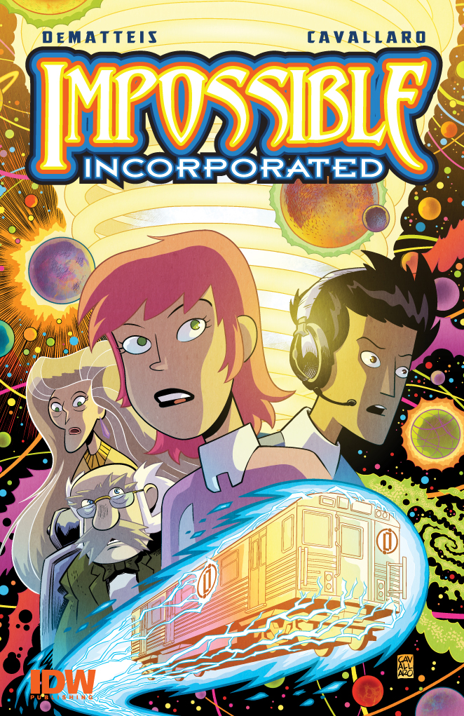 02. Impossible, Incorporated #1 cover