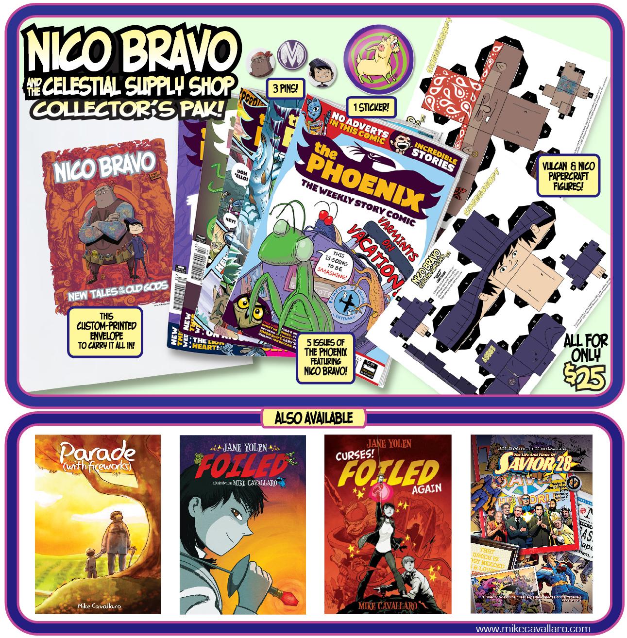 @ The Massachusetts Independent Comics Expo   Mike Cavallaro